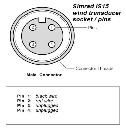 simrad transducer wiring diagram nissan 350z bose radio 3. party wind for is15 - myhanse hanse yachts owners forum page 2