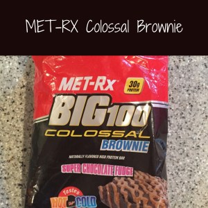 MET-RX Colossal Brownie