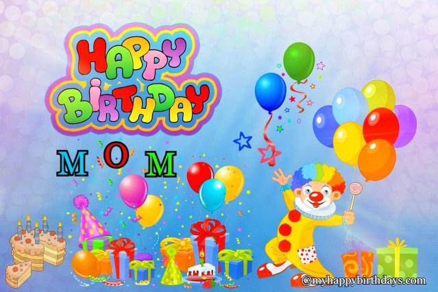 Many happy birthdays mom