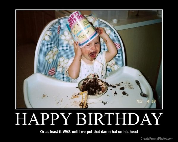 funny birthday child pictures