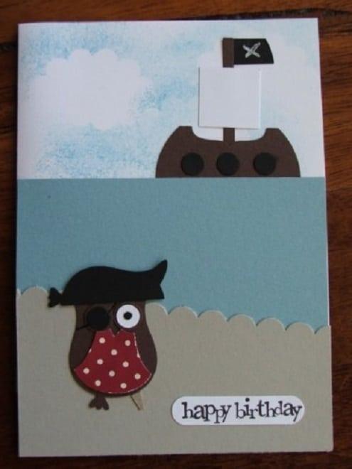 Handmade diy birthday card ideas for  buddies