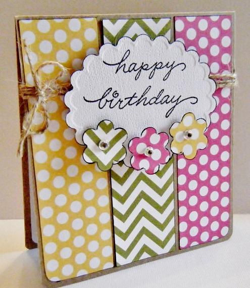 homemade diy birthday card ideas for girls