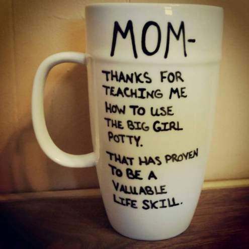 funny thank you quotes for mom