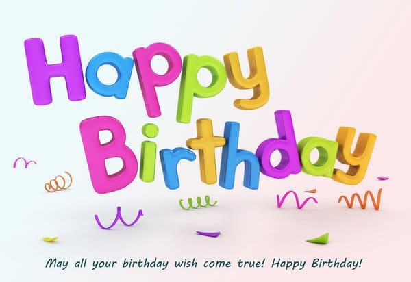 very happy birthday wishes