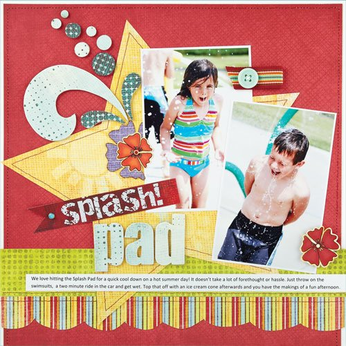Cut Out Papers Scrapbook Ideas