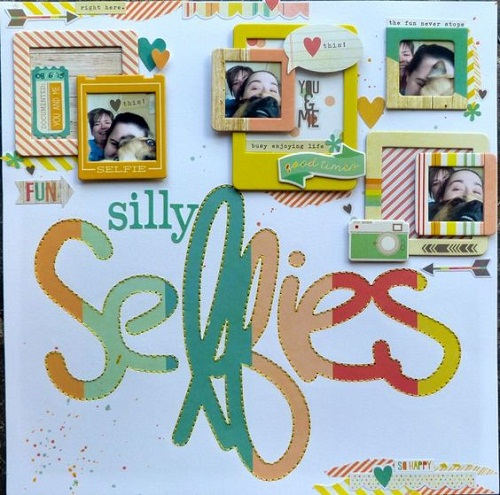 Frames Scrapbook Ideas
