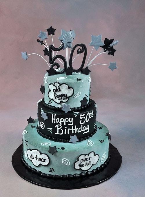 Phenomenal 50Th Birthday Cake For Men Funny The Cake Boutique Funny Birthday Cards Online Necthendildamsfinfo