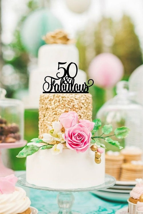 34 Unique 50th birthday cakes ideas with Images Birthday Cake Ideas
