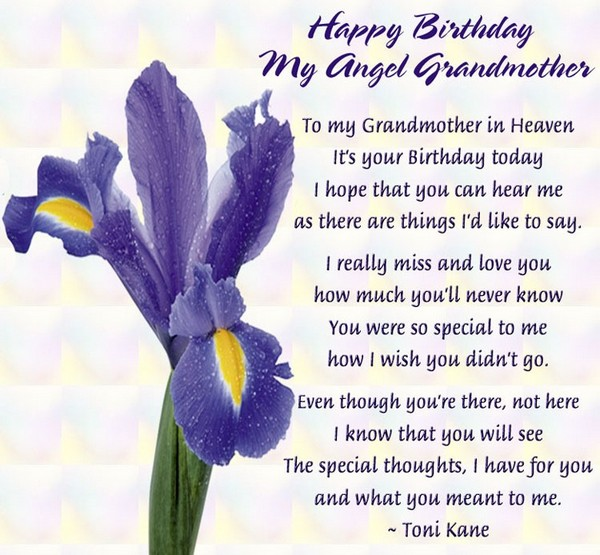 Birthday Wishes In Heaven Images