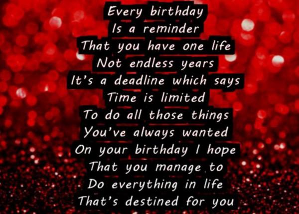 Happy Birthday Best Friend Poems