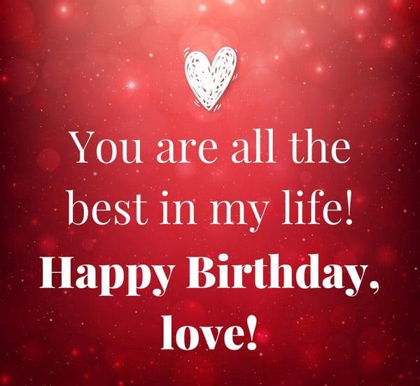 Cute Birthday Message