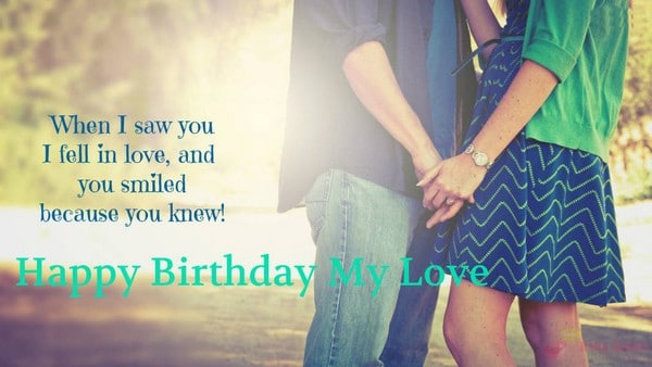 Happy Birthday Wishes To You My Love