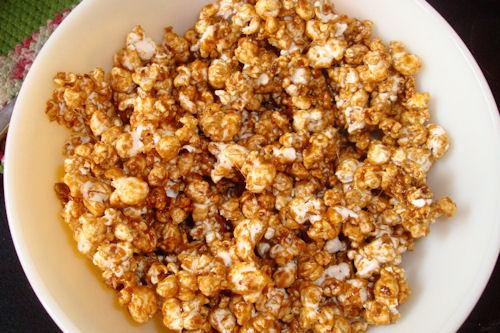 microwave caramel corn recipe my happy crazy life