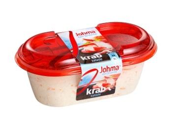 Nutteloze pakjes en zakjes: krab salade