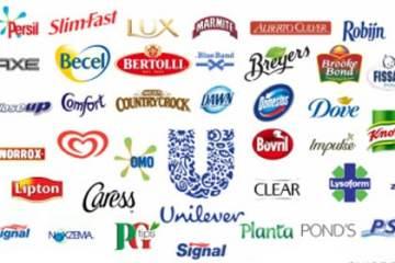 Unilever merken