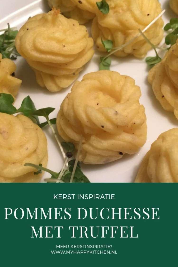 pommes duchesse met truffel