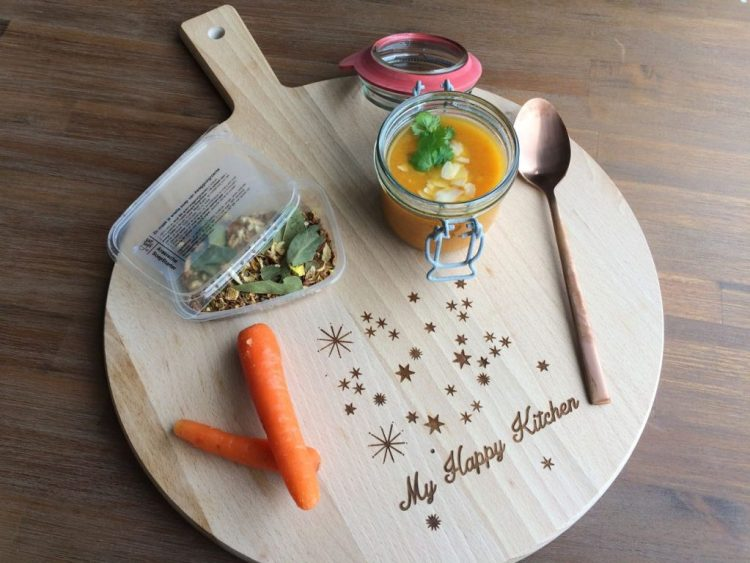 Wortelsoep met sinaasappel en gember