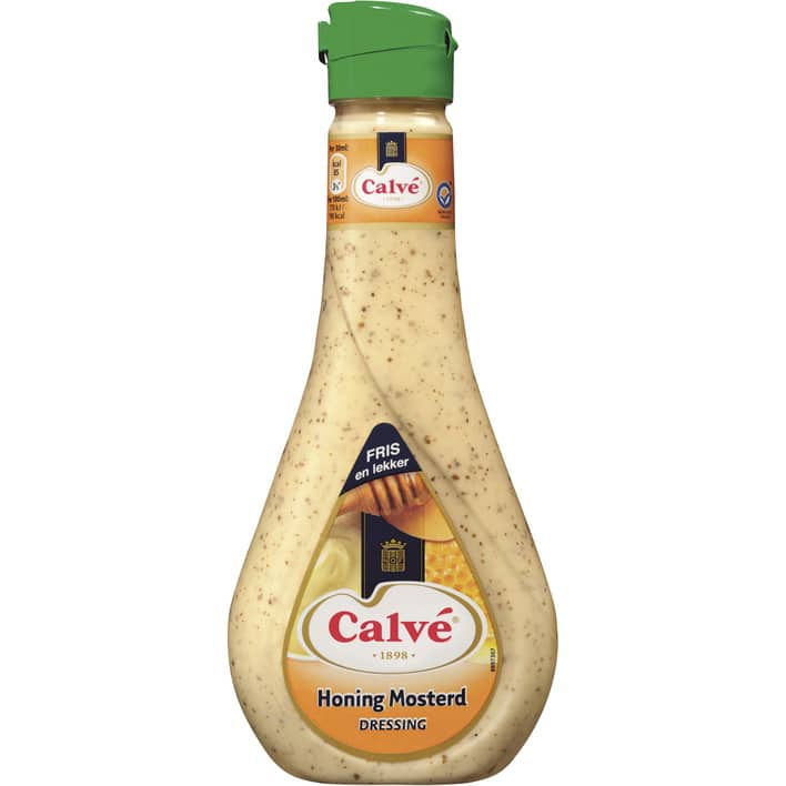 Calve honing-mosterd dressing