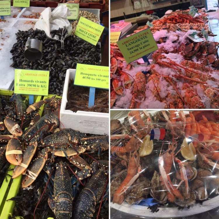 Thuis in la douce France - fruit de mer