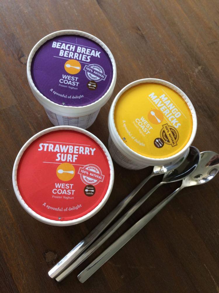 west coast frozen yoghurt