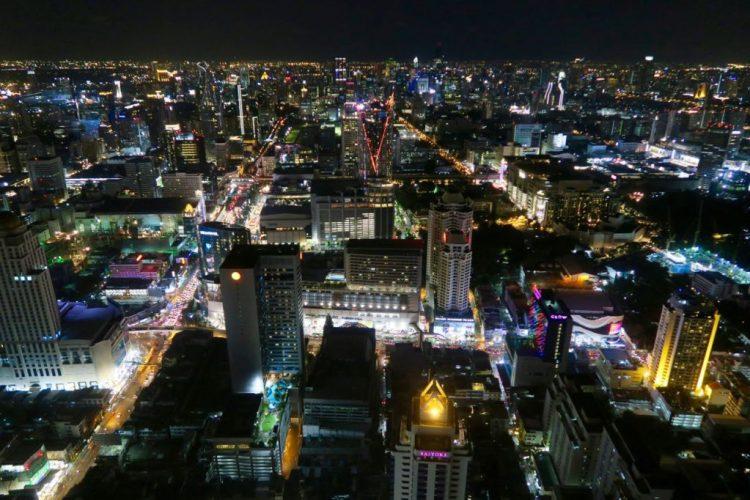 vakantie in thailand - uitzicht skytower