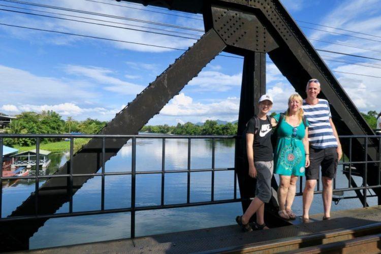 vakantie in thailand - bridge river kwai