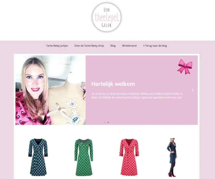 webshop edition - theelepel geluk