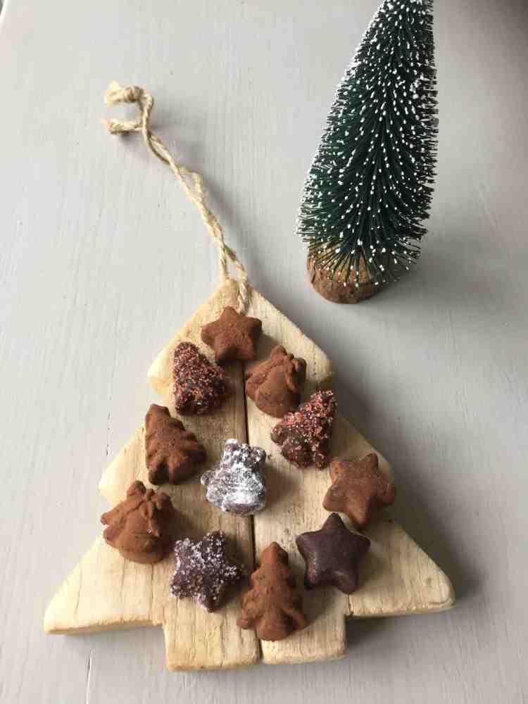 zelf kerstchocolaatjes maken