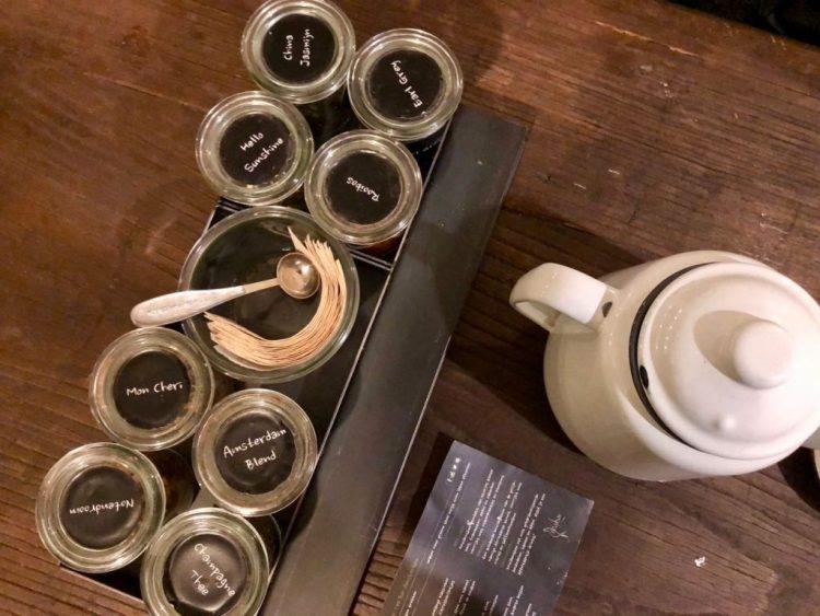 High tea bij Yoghurt Barn