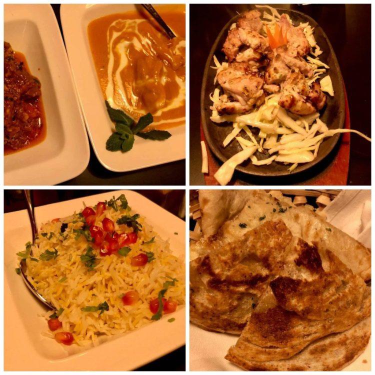 Restaurant Veda hoofdgerechten