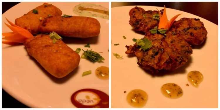 Restaurant Veda voorgerechten