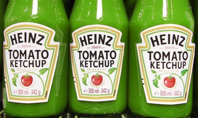 verdwenen merken: groene ketchup