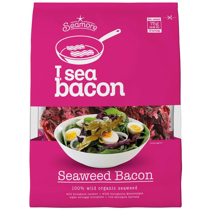 youtube vegan challenge - i sea bacon