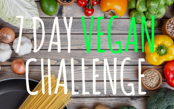 youtube vegan challenge