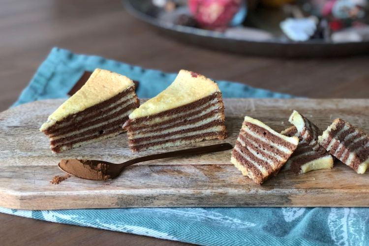 Spekkoek bakken (foodblogswap oktober)