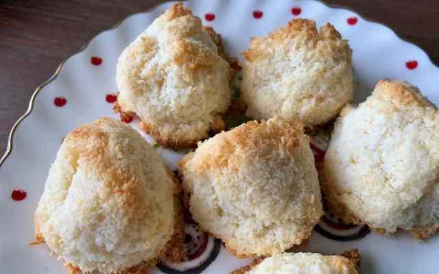 Kokosmakronen bakken (van maar 2 ingrediënten!)