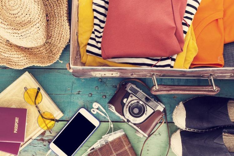 goed voorbereid op reis - koffer pakken