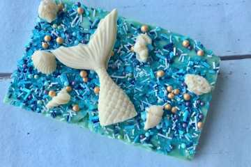Mermaid fudge