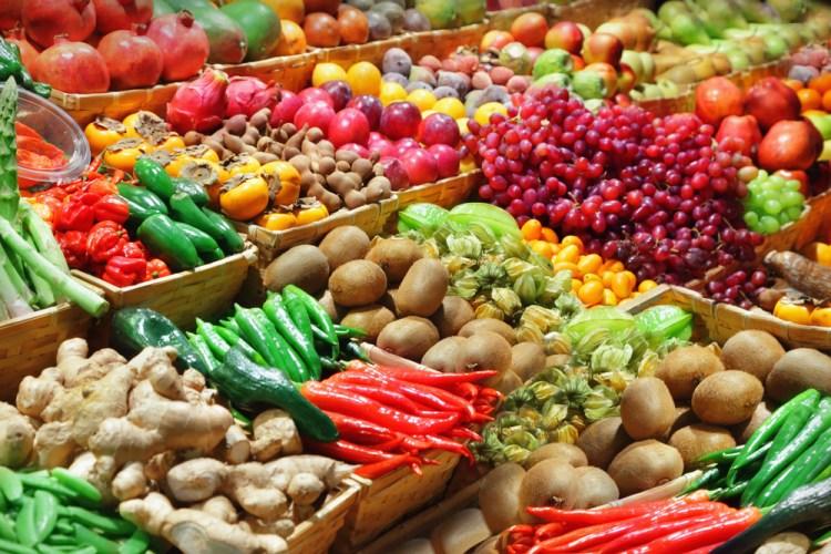 voordelig gezond koken - markt