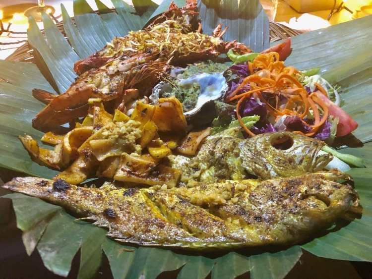 Rondreis Java en Bali - visschotel