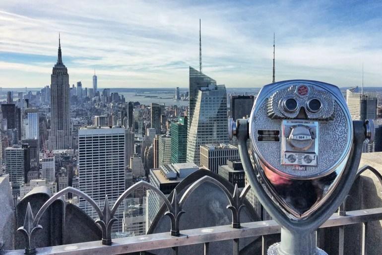 Einfach unbezahlbar: der Ausblick auf Manhatten vom Rockefeller Center