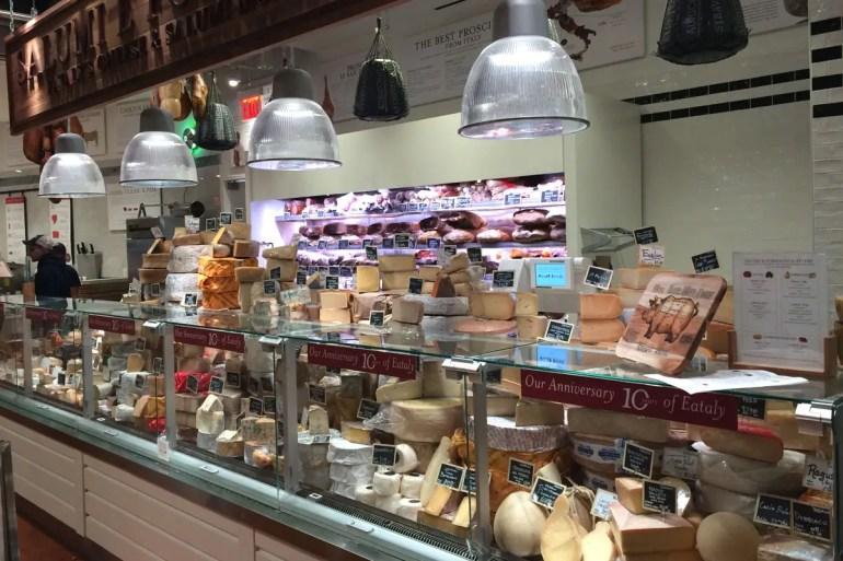 Leckeren Käse aus Italien gibt's bei Eataly