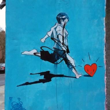 Streetart im East End