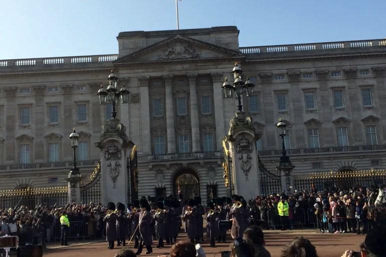 Wachwechsel am Buckingham Palace