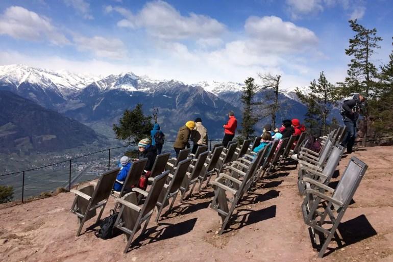 Bergfilm mit täglich wechselndem Programm: das Knottnkino in Südtirol
