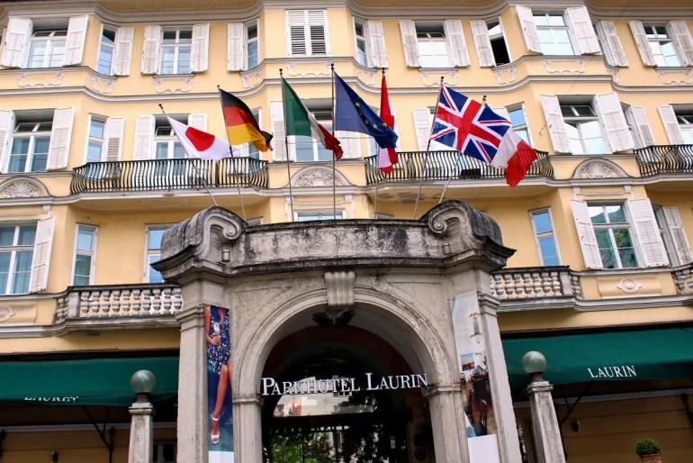 Das Parkhotel Laurin war bei seiner Eröffnung 1910 war es eines der modernsten Hotels Europas