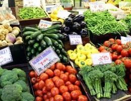 Lecker: Frisches Obst und Gemüse