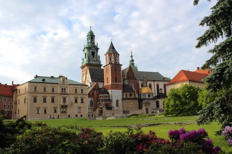 Die Kathedrale ist eines der Wahrzeichen von Krakau