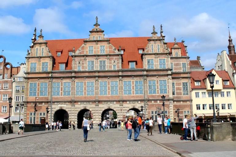 Das grüne Tor war Stadttor und königliche Residenz