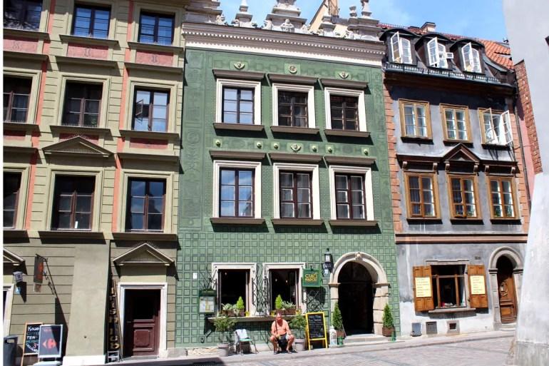 Warschaus Altstadt wurde nach dem Krieg komplett wieder aufgebaut